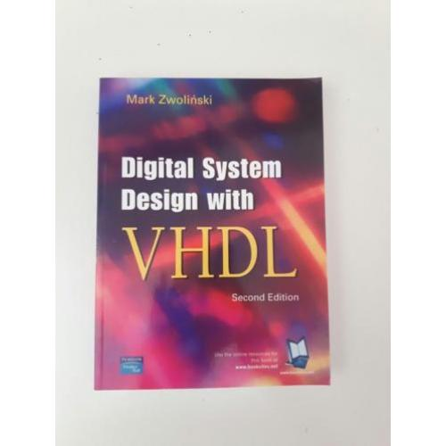 Boek digital systems design with vhdl